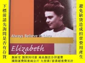二手書博民逛書店Elizabeth罕見of the Trinity Always