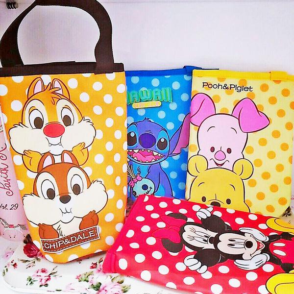 迪士尼米奇米妮史迪奇維尼奇奇蒂蒂水壺袋保鮮袋手提袋201030通販屋