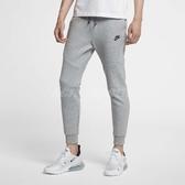 Nike 長褲 Sportswear Tech Fleece 灰 運動褲 縮口褲 合身版型 男款 【PUMP306】 805163-063