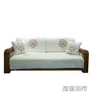 現代新中式沙發墊實木坐墊通用定制
