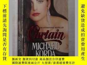 二手書博民逛書店英文原版罕見Curtain by Michael Korda 著