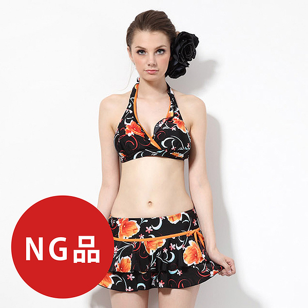≡MARIUM≡ MAR-2314 大女三件式bikini-NG商品
