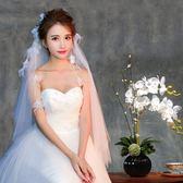 流蘇風情精致新娘頭紗浪漫百搭柔軟頭紗 LQ4737『夢幻家居』