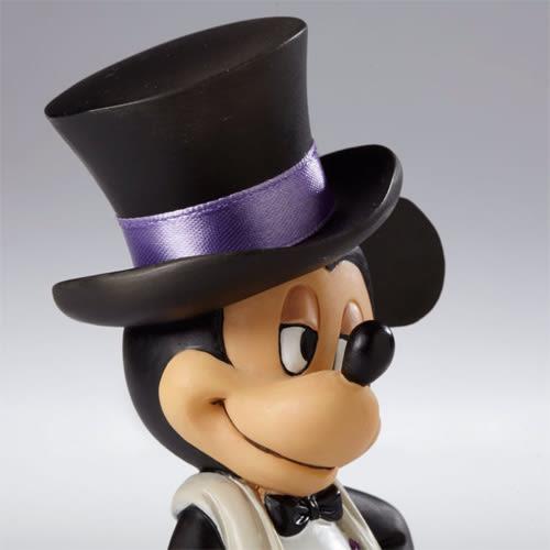 《Enesco精品雕塑》迪士尼米奇紳士燕尾服塑像★funbox生活用品★_EN75585