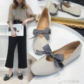 新款晚晚鞋平底百搭韓版奶奶學生豆豆鞋淑女鞋夏季社會女鞋子 ciyo黛雅