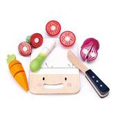 【美國Tender Leaf Toys】小小廚神切菜板(食材家家酒-廚房配件)