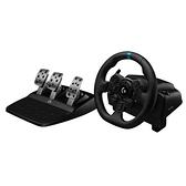 【限時至0919 送Shifter變速器】 Logitech 羅技 G923 TRUEFORCE PS5/PS4/PC 模擬賽車方向盤