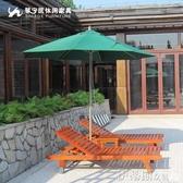 戶外遮陽傘馨寧居戶外遮陽傘豪華庭院餐飲鋁合金中柱傘2.7米崗亭花園太陽傘 伊蒂斯 LX
