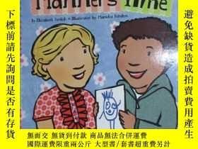 二手書博民逛書店英文書罕見MANNERS TIME 詳見圖片Y15969