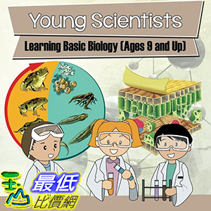 [106美國直購] 2017美國暢銷兒童書 Young Scientists: Learning Basic Biology (Ages 9 and Up) Paperback