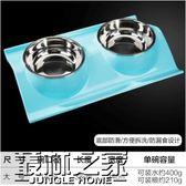 【618好康又一發】狗碗雙碗自動飲水不銹鋼狗盆貓碗寵物用品寵物用品