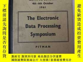 二手書博民逛書店the罕見electronic data processing