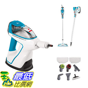[7美國直購] 蒸汽拖把 Bissell 2075A PowerFresh Slim Hard Wood Floor Steam Cleaner System, Steam Mop