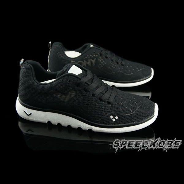 PONY SPLASH 全黑 網布透氣 輕量慢跑鞋 情侶 男女 62M1SF61BK 62W1SF61BK ☆SP☆