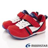 日本月星Moonstar機能童鞋HI系列2E機能款 MSC2121S2紅白(中小童段)