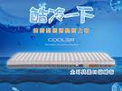 10cm厚度酷冷系列薄墊6x7尺【乳膠+...