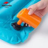 NH挪客戶外迷你USB充氣泵便攜鋰電池充氣泵適用NH充氣墊充氣枕【全館滿一元八五折】