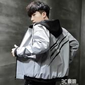 男士外套春秋款新款夾克男裝韓版潮流寬鬆帥氣秋季休閒棒球服 3C優購