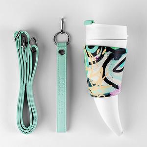 Goat Mug 12oz/350ml 山羊角咖啡杯-時尚塗鴉系列西方特仕