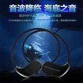 游泳耳機 頭戴式遊泳耳機防水MP3音樂播放器入耳式耳塞水下mp3潛水運動跑步