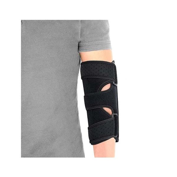 手肘支撐帶 2個可移動金屬夾板 Night Elbow Sleep Support 左右手通用 B08H7GMN8K [9美國直購]