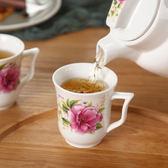 陶瓷花茶冷水壺杯具套裝家用大容量飲具涼水