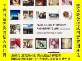 二手書博民逛書店Families,罕見Relationships And Int