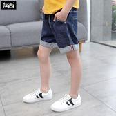 童裝男童牛仔短褲夏裝2018新款兒童褲子中褲五分褲夏季韓版潮
