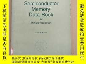 二手書博民逛書店the罕見semiconductor memory data book(P2289)Y173412