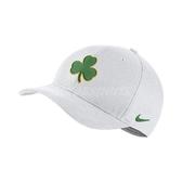 Nike 帽子 Dry-Fit Arobill Clc99 Celtics 白 綠 黃 幸運草 男女款 【PUMP306】 AA6210-100