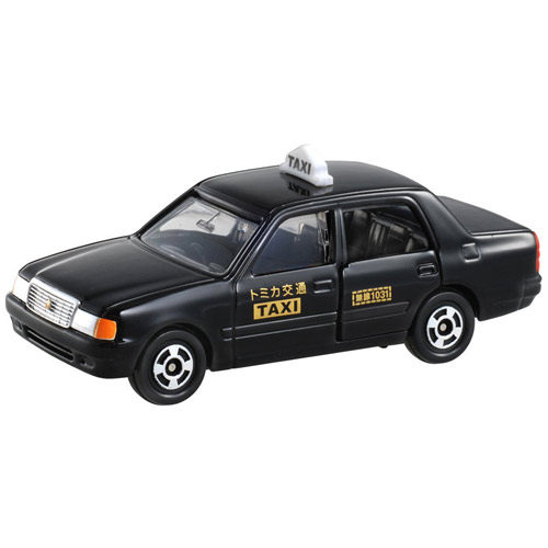 TOMICA NO.051 豐田黑色計程車_TM051A 多美小汽車