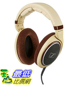 [105美國直購] Sennheiser HD 598 象牙色 Over-Ear Headphones - Ivory