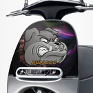 GOGORO面板貼 《潮酷文創》創意保護貼 獨特車貼 車膜 / GR045-鬥犬