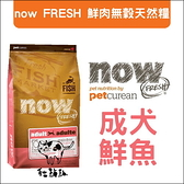 Now〔鮮魚無穀成犬配方,6磅,加拿大製〕(活動優惠價)