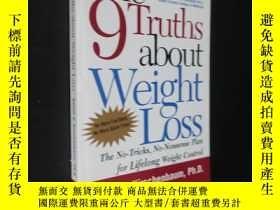 二手書博民逛書店The罕見9 Truths about Weight LossY