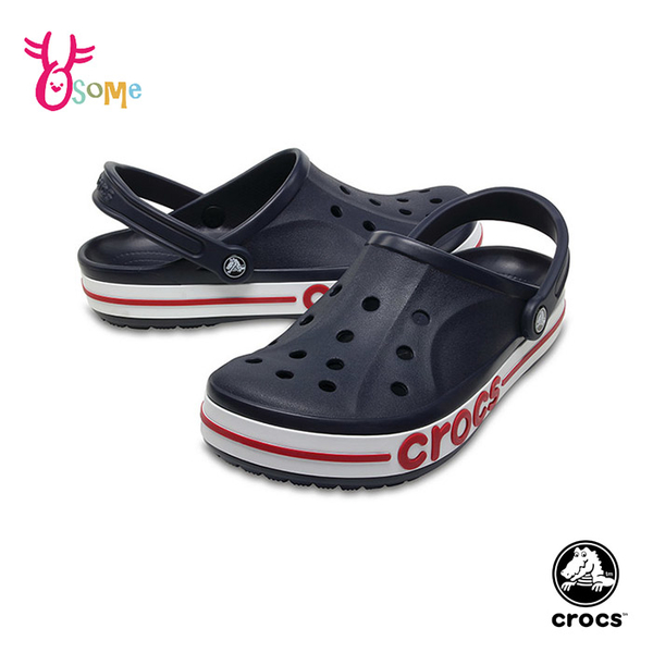Crocs卡駱馳洞洞鞋 男女鞋洞洞鞋 一體成型 BAYA 園丁鞋 防水布希鞋 涼拖鞋 輕量避震 A1784#藍色