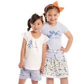 【愛的世界】花卉公主袖上衣/1~2歲-台灣製- ★春夏上著