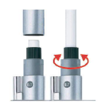 【FABER-CASTELL】輝柏 GRIP 2011自動鉛筆專用橡皮擦 10個入 / 盒 131558