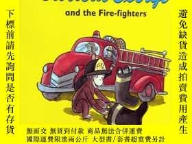 二手書博民逛書店英文原版罕見Curious George picture boo