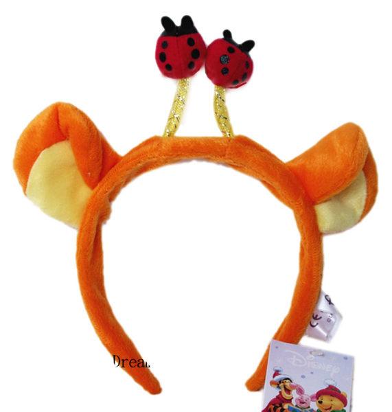 【卡漫城】跳跳虎 髮箍 ㊣版  嬰幼 兒童 髮飾 聖誕 party 萬聖節 裝扮 髮飾 髮圈 Tigger 造型 瓢蟲