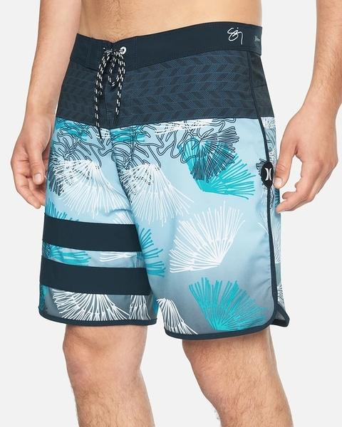 HURLEY|男 PHANTOM BP SZ WAILEHUA 18'' BLACK 海灘褲
