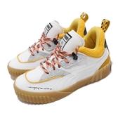 Puma 休閒鞋 Sue Tsai x Puma Cali 白 黃 女鞋 運動鞋 聯名 皮革 【ACS】 36987701