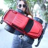 兒童遙控皮卡車玩具充電遙控越野車四驅電動汽車超大貨車高速漂移