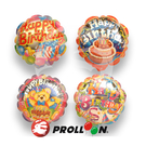 【大倫氣球】14cm 生日-自動充氣鋁箔氣球 BLOSSOM BALLOON 派對、慶祝、各式Party活動 婚禮小物