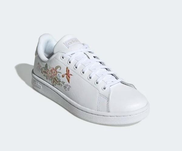 Adidas ADVANTAGE 女款花朵休閒鞋 -NO.EF0135