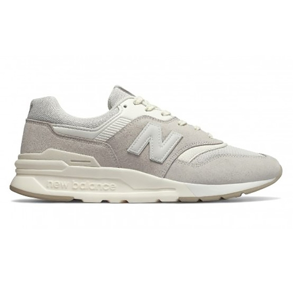New Balance 997 復古情侶休閒鞋 米白奶茶色 CM997HCB