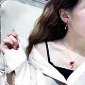 項鍊女日韓本命年脖子飾品人學生葫蘆吊墜創意毛衣鏈簡約鎖骨鏈