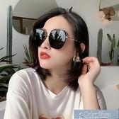 墨鏡太陽鏡女款防紫外線偏光圓臉網紅氣質時尚ins韓版百搭墨鏡女 快速出貨