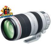 【24期0利率】申請送7千6禮券 Canon EF 100-400mm F4.5-5.6 L IS II USM 彩虹公司貨