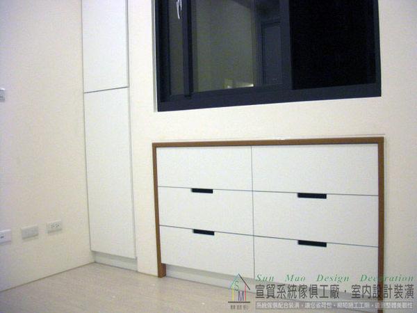 台中系統家具推薦/台中系統櫃/系統櫥櫃/台中空間設計/木工裝潢/系統窗邊置物櫃-sm0640